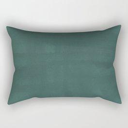 Crosshatch in Teal Rectangular Pillow
