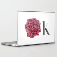 kim sy ok Laptop & iPad Skins featuring OK by youdesignme