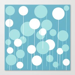Float - Blue & White Canvas Print