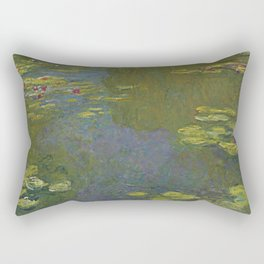 Claude Monet - Le bassin aux nymphéas Rectangular Pillow