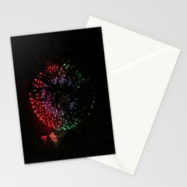 Fire Flower Fireworks Stationery Cards