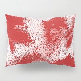 Bloody Blood Spatter Halloween Pillow Sham