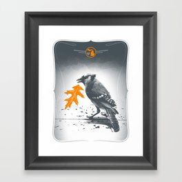 Jaybird Framed Art Print