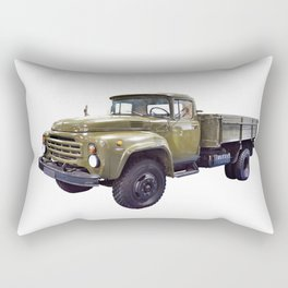 Old military russian truck Rectangular Pillow