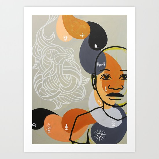 jubilee 2012 - redeemed Art Print