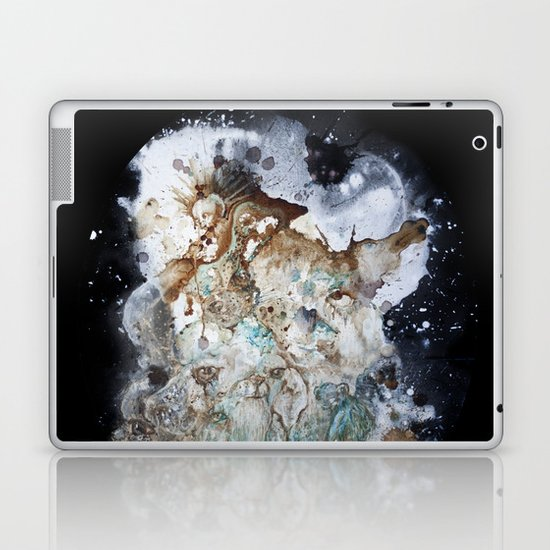 Excerpt / Curacao Coffee on Canvas Laptop & iPad Skin