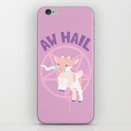 Aw Hail - Pastel Pinks iPhone Skin