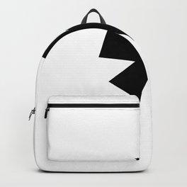 Asterisk (Black & White) Backpack