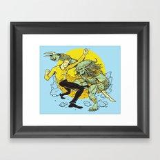 BattleKirk Predactica Framed Art Print