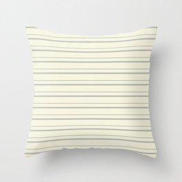 Benjamin Moore 2019 Color of the Year 2019 Metropolitan Light Gray on Lemon Chiffon Pale Pastel Yell Throw Pillow