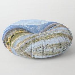Mono Lake Tufa, No. 5 Floor Pillow