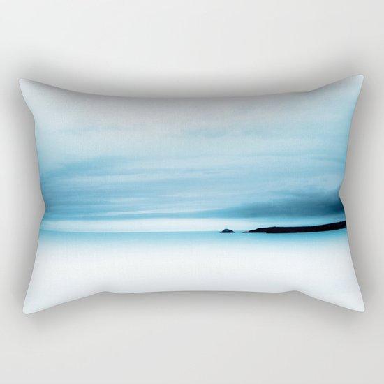 cool blue sea Rectangular Pillow