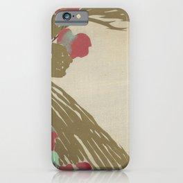 Kamisaka Sekka - Flowers of a Hundred Worlds - Ivy (1909) iPhone Case