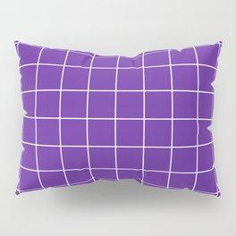 Grape Grid Pillow Sham