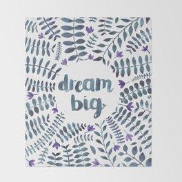Dream Big! Throw Blanket