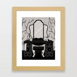 Mirror Altar Framed Art Print