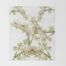 Orchidee fantasy Throw Blanket