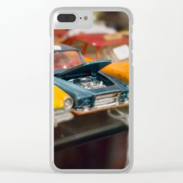 Car Trouble Clear iPhone Case