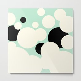 Vanilla Mint Chocolate Chip Metal Print