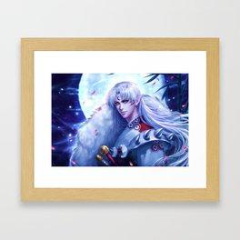 Sesshomaru Framed Art Print