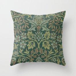 Flower Garden - William Morris Throw Pillow