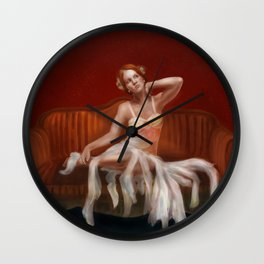 DivaRed Wall Clock