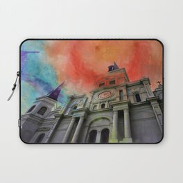 Water Color Cathedral Laptop Sleeve