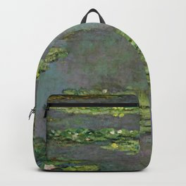 "Claude Monet ""Water Lilies"" (6) Backpack"