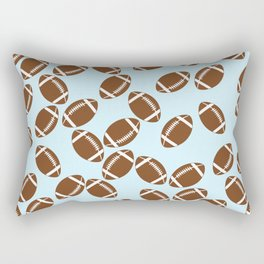 Cute Football Rectangular Pillow