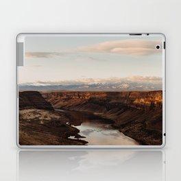 Snake River, Idaho - Scenic Desert Canyon Laptop & iPad Skin