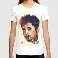 brad pitt T-shirts featuring Mr Pitt  by ConnorEden