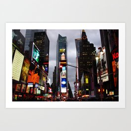 New York Souvenir Art Print