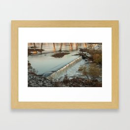 On The James Framed Art Print