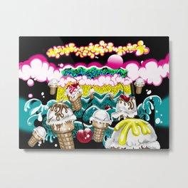 Ice Cream Dream3 Metal Print