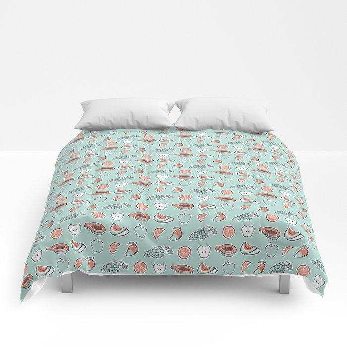 Juicy (Mint) Comforters