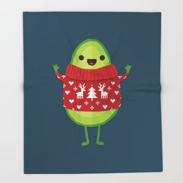 AVO MERRY CHRISTMAS Throw Blanket