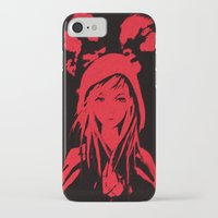 red riding hood iPhone & iPod Cases featuring Miss Red riding hood  by Sammycrafts
