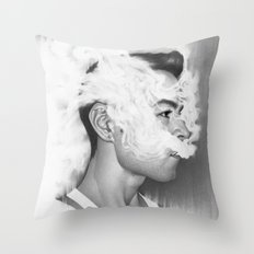 A Perfect Nothing Throw Pillow
