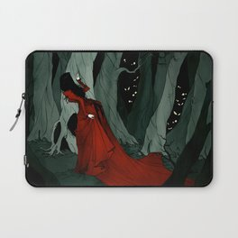 Snow White Lost in the Woods Laptop Sleeve