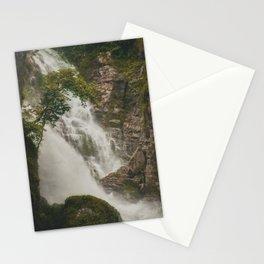 The Waterfalls of Nepal 001 Stationery Cards
