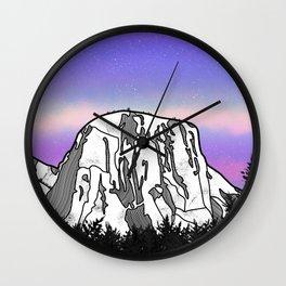 El Capitan Wall Clock