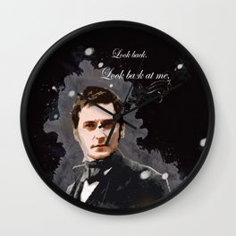 North and South - Richard Armirtage - Look back at me. Wall Clock