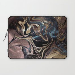Deep Liquid Gold Laptop Sleeve