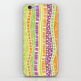 Zany Stripes iPhone Skin