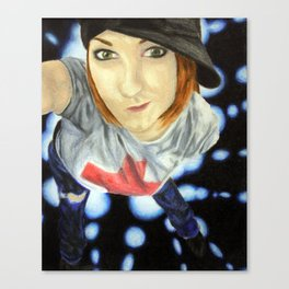 Girl on the Dancefloor Canvas Print