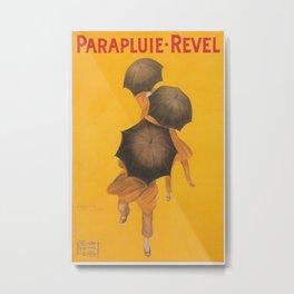 Vintage poster - Parapluie-Revel Metal Print