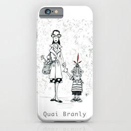 A Few Parisians by David Cessac: Quai Branly iPhone Case