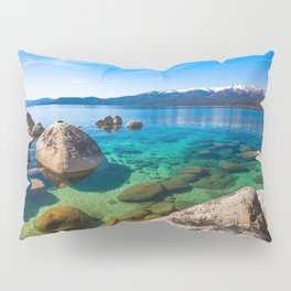 Let's Jump In At Sand Harbor, Lake Tahoe Pillow Sham