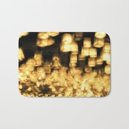 Countless lights Bath Mat
