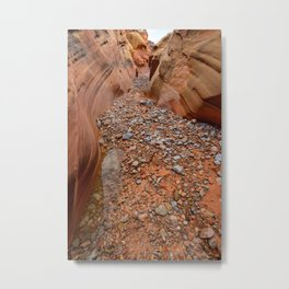 After the Rain - 5, Valley_of_Fire Canyon, Nevada Metal Print